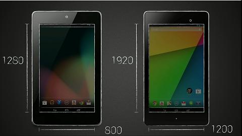 Google Nexus 7 Media and Display