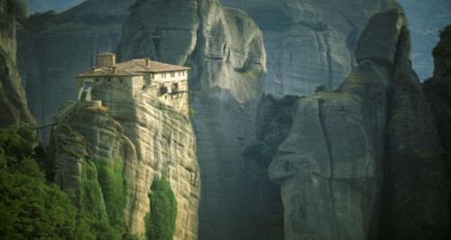 The surreal Meteora monasteries of Greece
