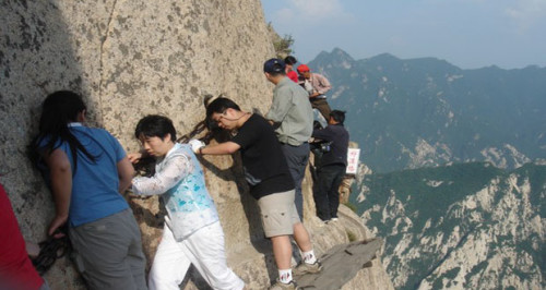 Mount Hua Plank Walk, China