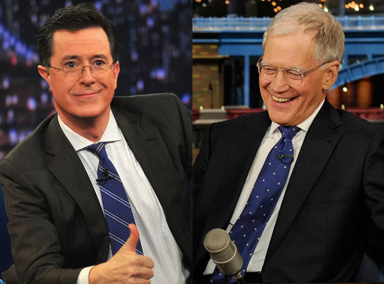 Letterman and Colbert
